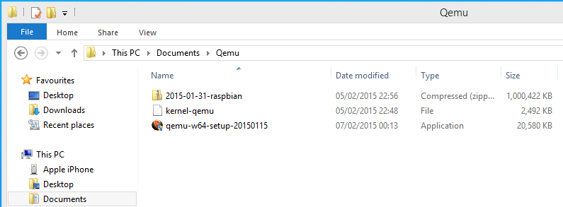 How to Emulate Raspbian under Windows 8 1 for Raspberry Pi 2